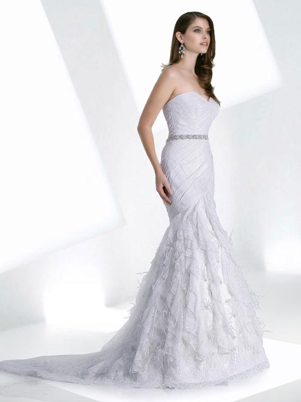 Mermaid with So Beautiful Elements Wedding Dress