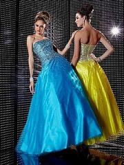 Ball Gown Silhouette Strapless Sequined Embellishment Full Length Quinceanera Dresses