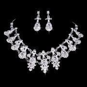 Beauteous Bridal Jewelry Set in Princess-style