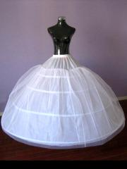 Charming Floor-length Tulle Bridal Wedding Gown Petticoat