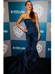 Charming Mermaid Strapless Dark Royal-blue Evening Dress