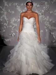 Cheap Organza and Tulle Wedding Dress