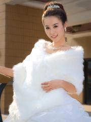 Concise Designed Faux Fur Wedding Shrug Wedding Wraps