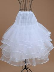 Elegant Tiered Chiffon Petticoat