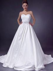Empire With A-Line In Chapel Train Chic Wedding Dress