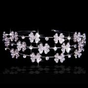 Eternal Alloy Bridal Headpiece with Rhinestone and Pearls