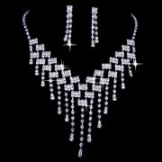 Exquisite Jewelry Set with Pearls