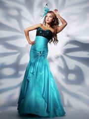 Fabulous Floor-length Sweetheart Empire Floral Dress