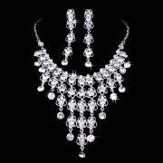 Gorgeous Ice-like Rhinestone Jewelry Set