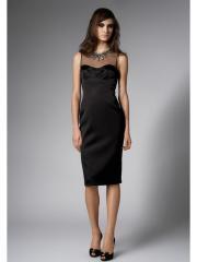 Graceful Ornamental Neckline Evening Gown with High-fashioned Taste