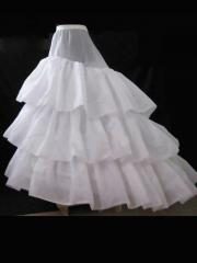 Luxurious Hoopless High-quality Layered Petticoat