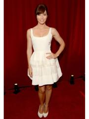 Pure White knee-length Evening dress with Spaghetti Straps