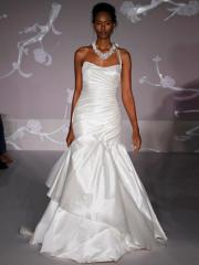 Romantic Sweetheart Mermaid Gown of Detachable Strap at Shoulder