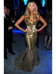 Stunning Mermaid Evening Dress with Gold Sequins